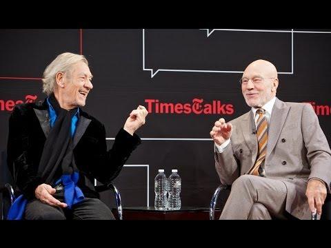 Ian McKellen & Patrick Stewart   Interview pt 1   TimesTalks