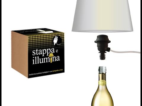 Videorecens Ita Stappa E Illumina Crea Una Lampada Con Le Tue