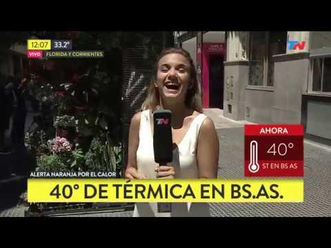 Alerta Naranja: 40 grados de térmica en Buenos Aires