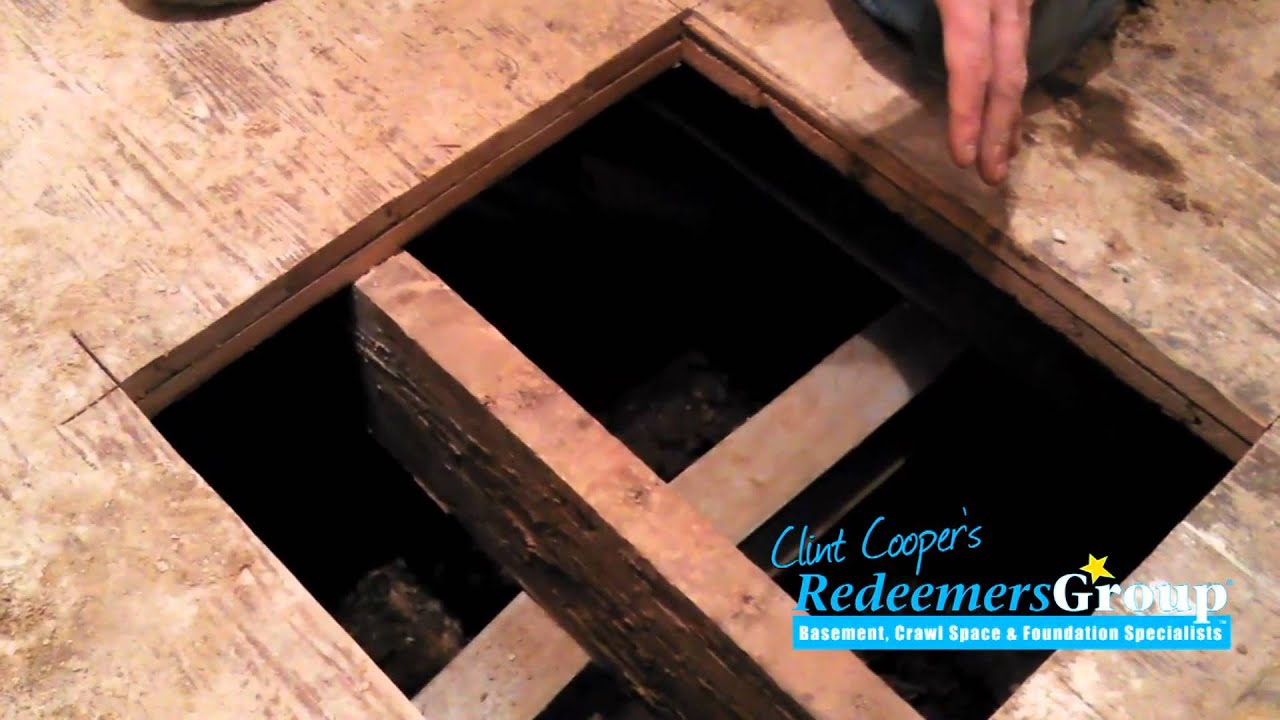 How to Install Support Jacks in Crawl Spaces with Low