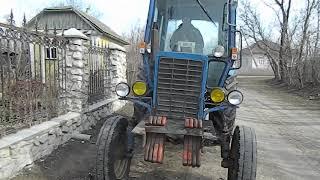 Обзор на трактор МТЗ,когда стучит топливная аппаратура!