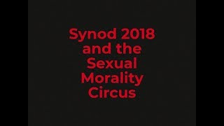 Synod 2018 And The Sexual Morality Circus
