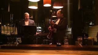 Dave and Gary play  jazz in Swansea