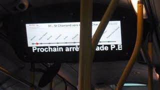 Système Information Voyageurs en test Ligne 1 [TCRA - AVIGNON]