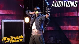 Space Cowboy Risks His Life | Auditions | Australia's Got Talent 2019