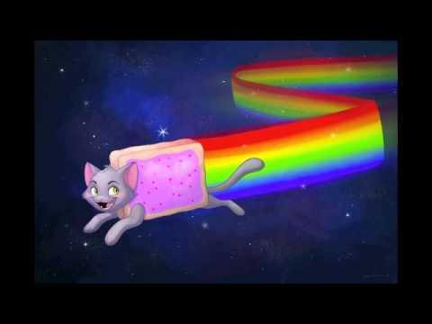 Nightcore~ Nyan Cat Tribute~ Nya nya