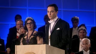 Sheldon and Amy Recieve Nobel Prize || Full Speech || Final Episode of The Big Bang Theory