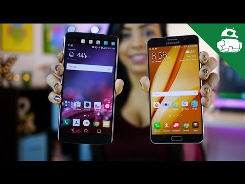LG V10 vs Samsung Galaxy Note 5