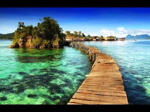 Pulau Papan di Kepulauan Togean Sulawesi Tengah - YouTube