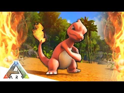 CHARMELEON ROASTS US! - ARK SURVIVAL EVOLVED POKEMON MOD #3