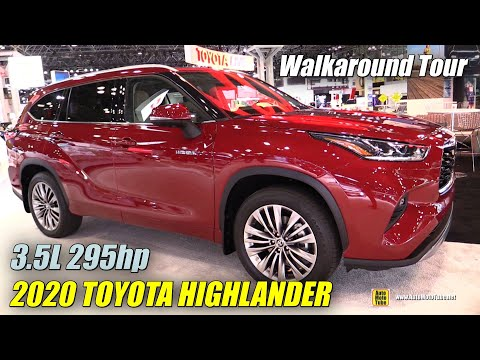 2020 Toyota Highlander - Exterior and Interior Walkaround - Debut at 2019 NY Auto Show