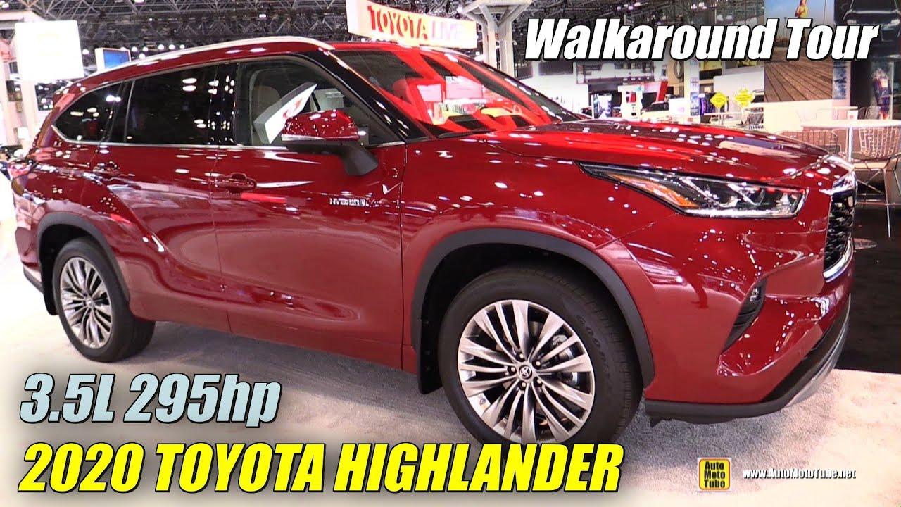 2020 Toyota Highlander - Exterior and Interior NY Auto Show