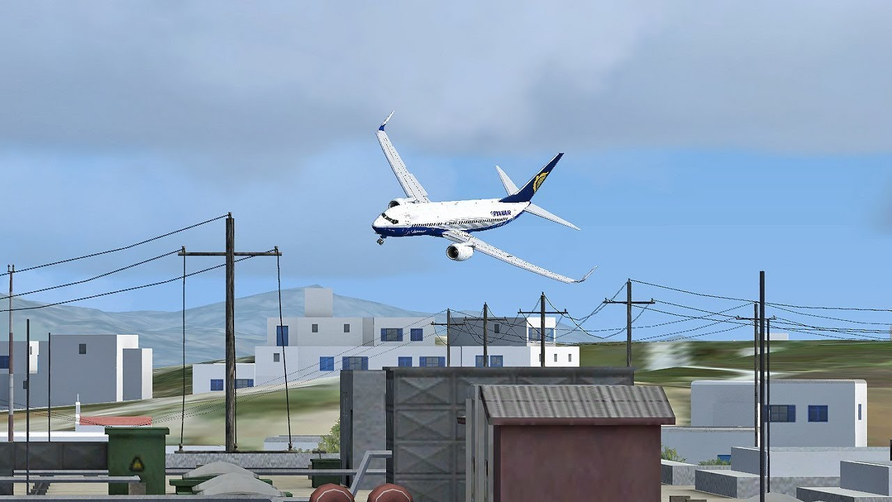 Ryanair Boeing 737 | Malta Luqa LMML - Athens LGAV | Vatsim FSX-SE
