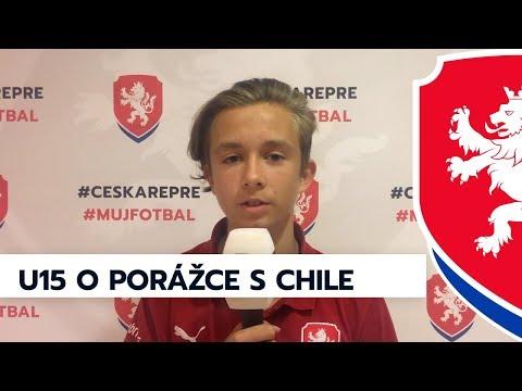 Ohlasy z týmu U15 po porážce s Chile