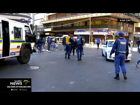 Police Ministry responds to the recent unrest, looting scenes in Gauteng