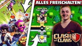 😍🔥NEUE SEASON - ALLES FREISCHALTEN! | 7. Geburtstag von Clash of Clans!