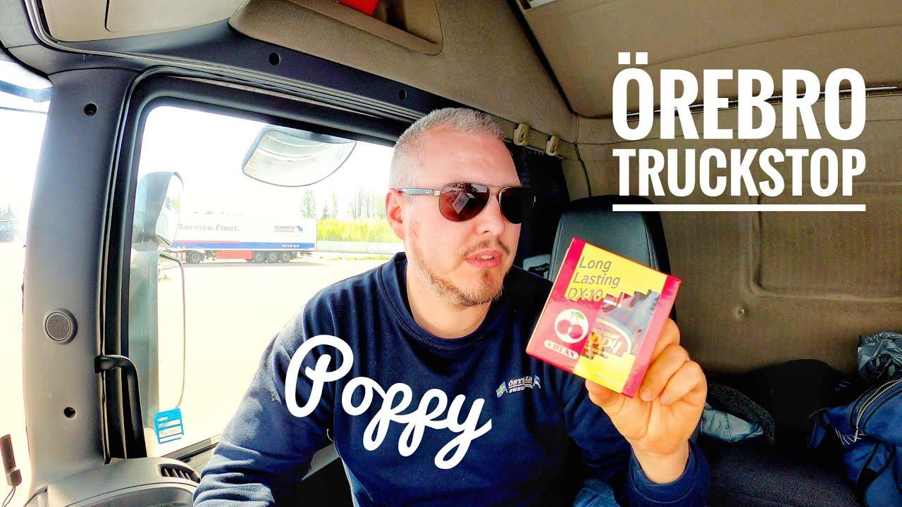 #80 Köper poppys på örebro truckstop och pratar rappakalja // Buying airfreshner at Örebro truckstop