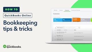 Bookkeeping Best Practices: Tips & Tricks | QuickBooks Online Tutorial 2018