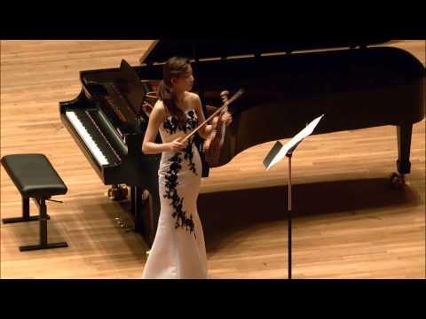 Christine Seohyun Lim -- Menuhin Competition 2014 -- Senior Semi-Finals