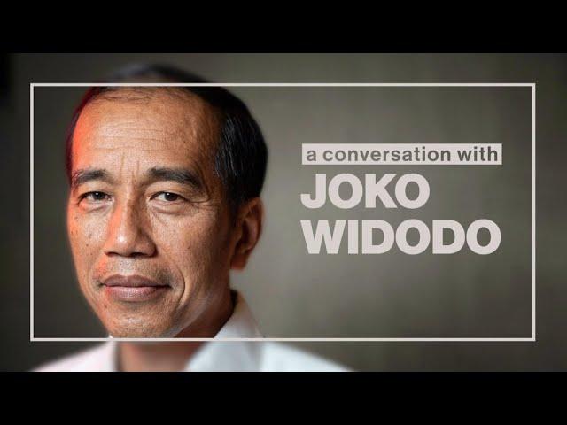 A talk with president Joko Widodo