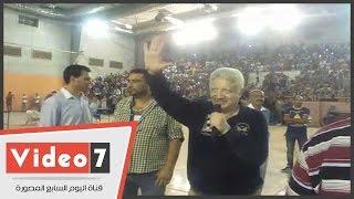 """مرتضى منصور لجمهور الزمالك """"هنكسب خمسة إن شاء الله """""""