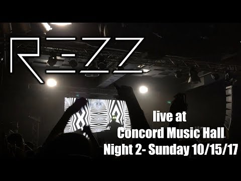 REZZ live Night 2 @ Concord Music Hall, Chicago IL Mass Manipulation Tour 10/15/17