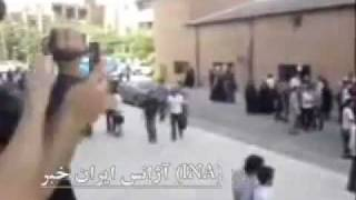 12 June 10. Sharif University Tehran. Students protest against the government of Iran