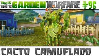 Plants vs. Zombies Garden Warfare #96 - Cacto Camuflado [60 FPS]