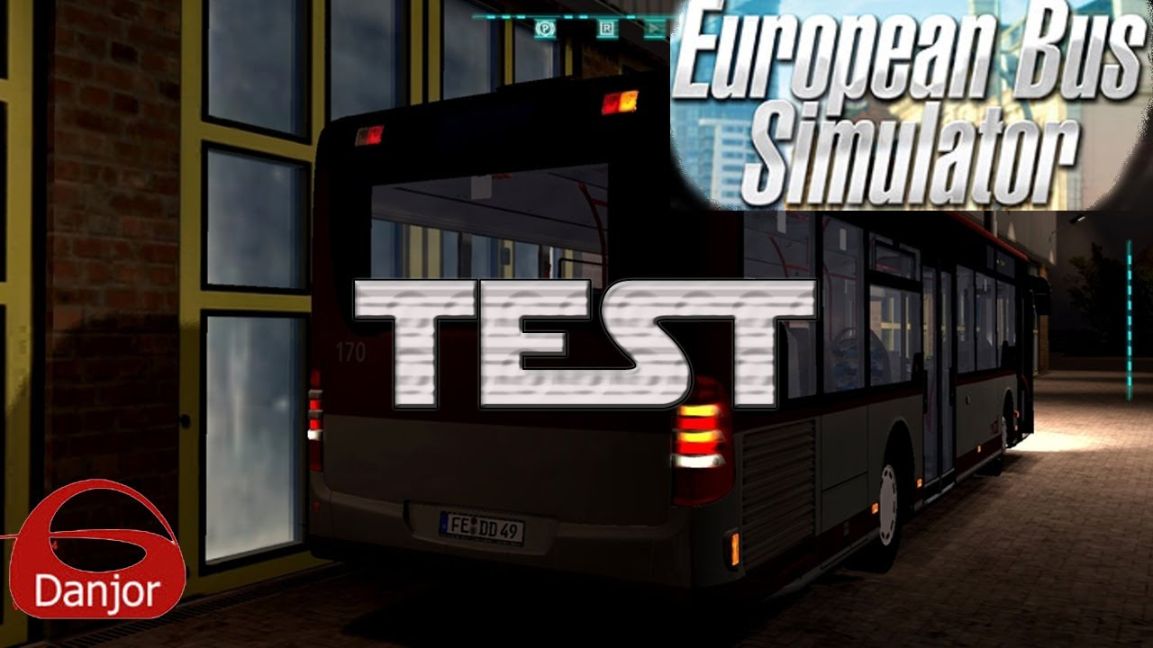 vid o test i european bus simulator 2012 i une nouvelle carri re suivie youtube. Black Bedroom Furniture Sets. Home Design Ideas