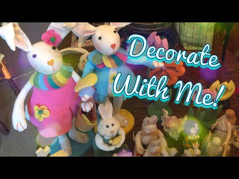 Decorate With Me | Easter 2018