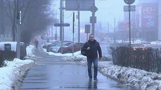 Минувшее воскресенье в Москве стало самым теплым днем зимы.
