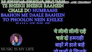 Koi Roko Na Deewane Ko - Karaoke With Scrolling Lyrics Eng.& हिंदी