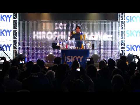 SKYY Vodka Global Flair Challenge - London 2012 - Hiroshi Ichikawa 6th Place