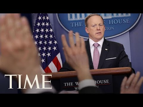 Download Youtube: Press Secretary Sean Spicer Resigns After Anthony Scaramucci Named Communications Director | TIME