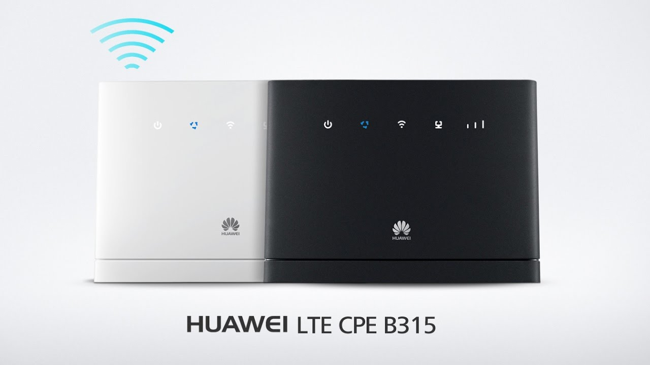 basic wifi setup huawei b315 lte cpe 4g router youtube. Black Bedroom Furniture Sets. Home Design Ideas