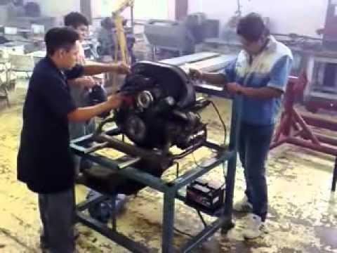 ARMADO DE MOTOR Y PRUEBA DE ARRANQUE EN BANCO PORTA.- BASE ...
