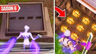 I RENTRE IN THE NEW BUNKER SECRET OF THE SAISON 6 (Wailing Woods) Fortnite Battle Royale!