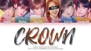 TXT「CROWN」[6 Members Ver.] + YOU AS A MEMBER (Color Coded …