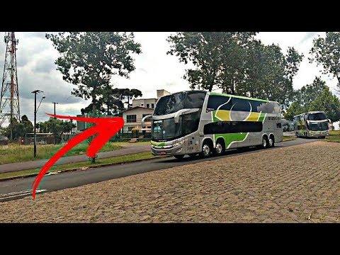Mostrando por dentro do novo ônibus 15 metros da Brasil Sul #CarreataBrasilSul