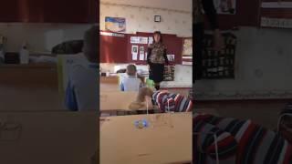 Фрагмент уроку навчання грамоти  1 клас  Вправа Крісло вражень