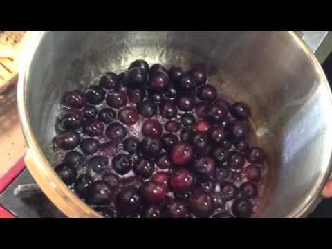 ジャム レシピ ぶどう 種ありぶどうでのジャムの作り方