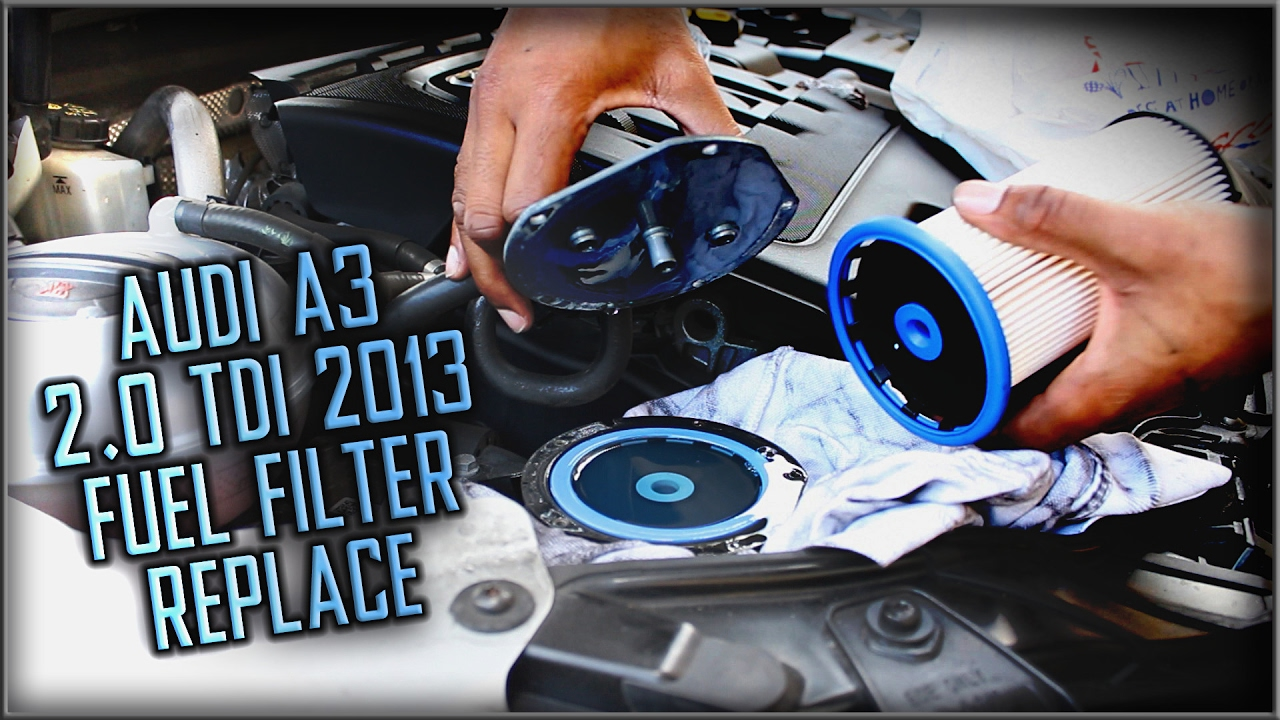 audi a3 fuel filter replacement [ 1280 x 720 Pixel ]