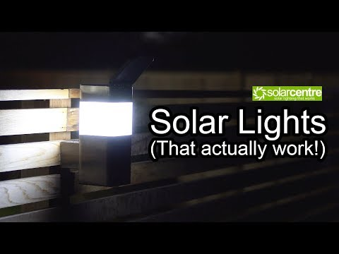 COOL SOLAR LIGHTS (THAT ACTUALLY WORK)