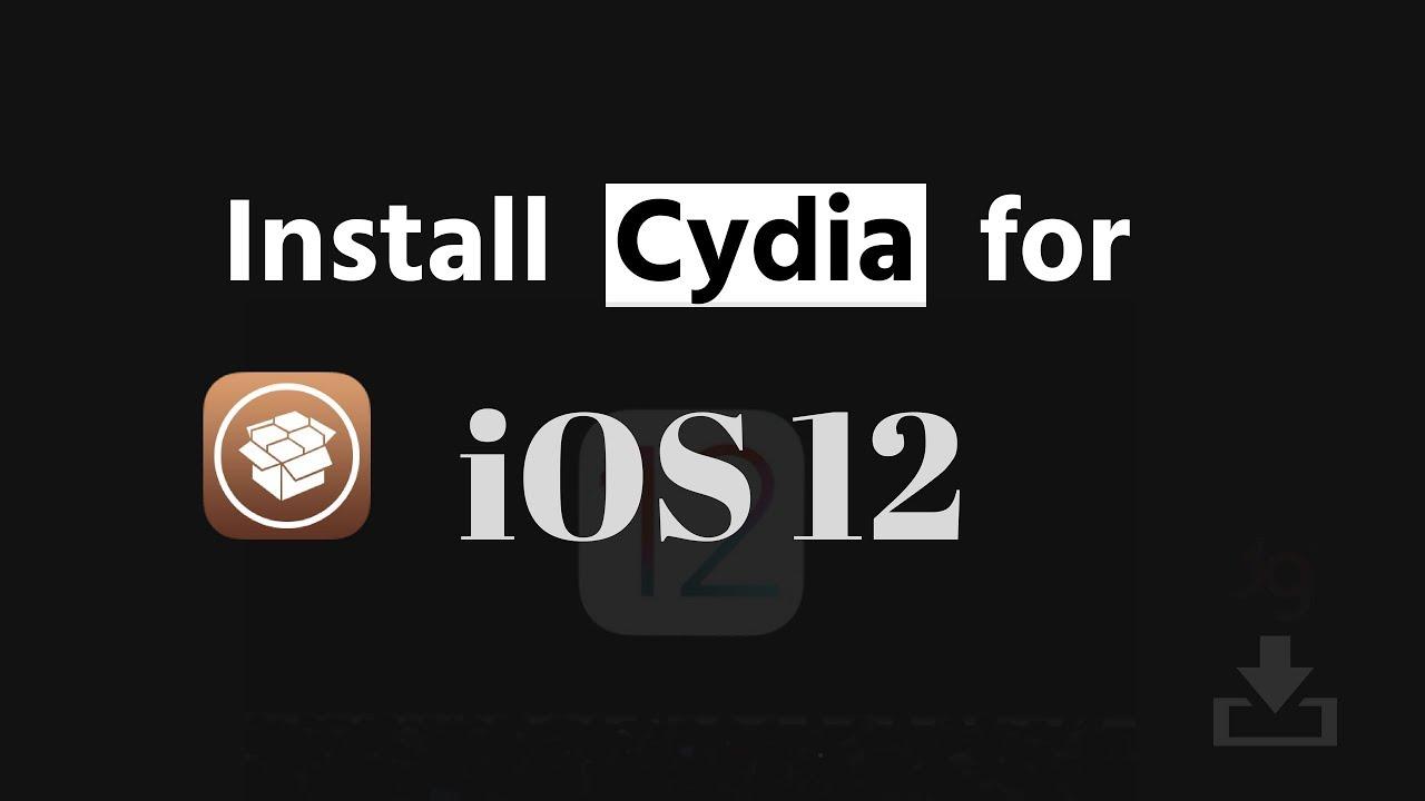 Install Cydia on iOS 12