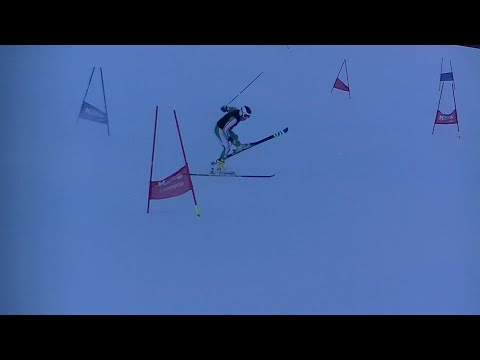 Ski Racer Struggles + Crashes - Cormac Comerford