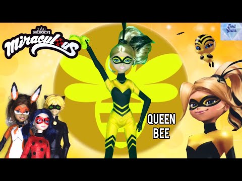 Queen Bee Doll Miraculous Ladybug Season 2 Episode Story Mini figure Transformation Review Unboxing