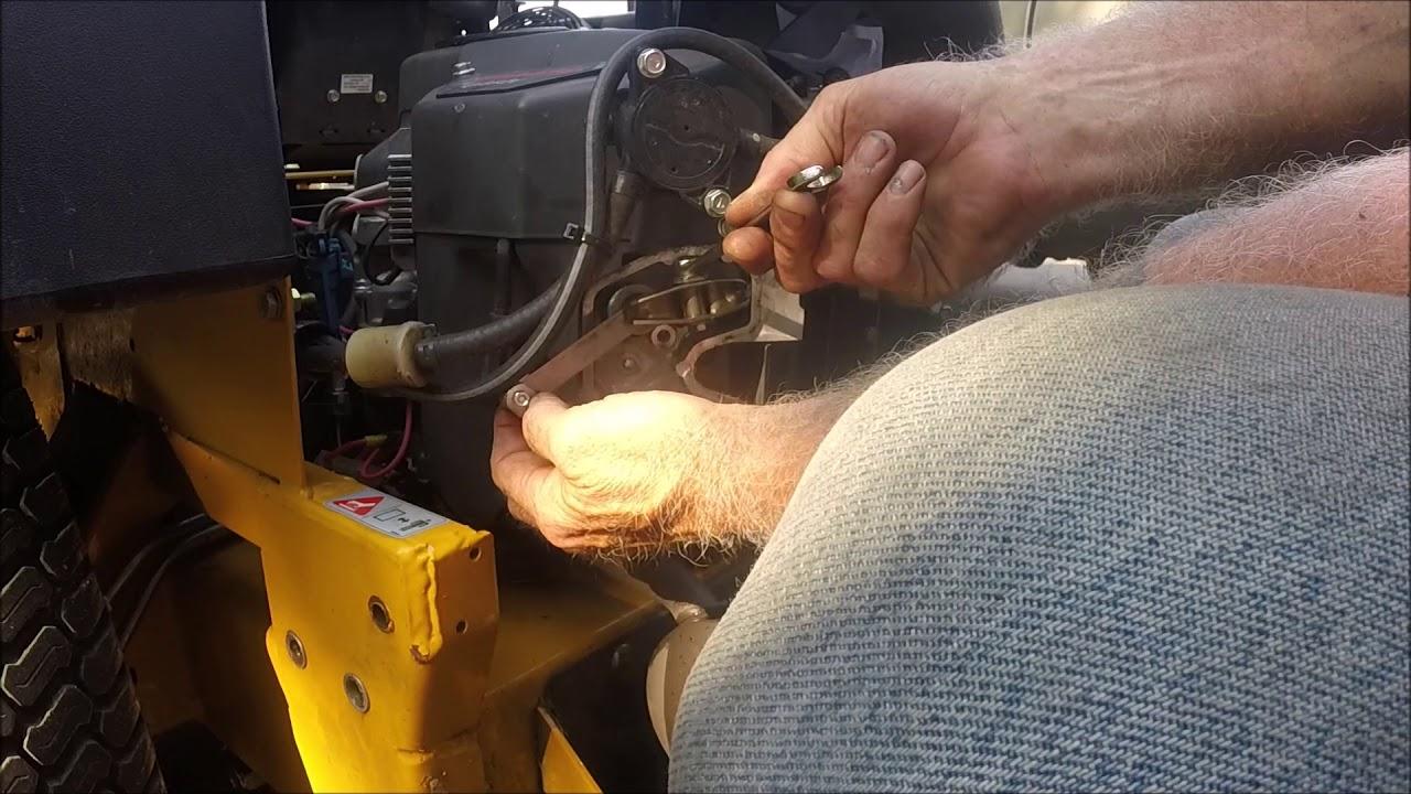 how to set the valves on a 27hp fx 850v kawasaki motor - youtube