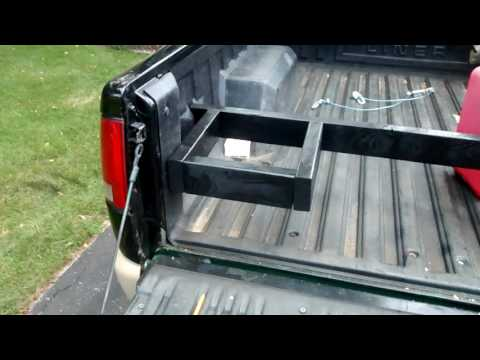 How to safely carry gas cans in your truck bed- truck bed upgrade # 1
