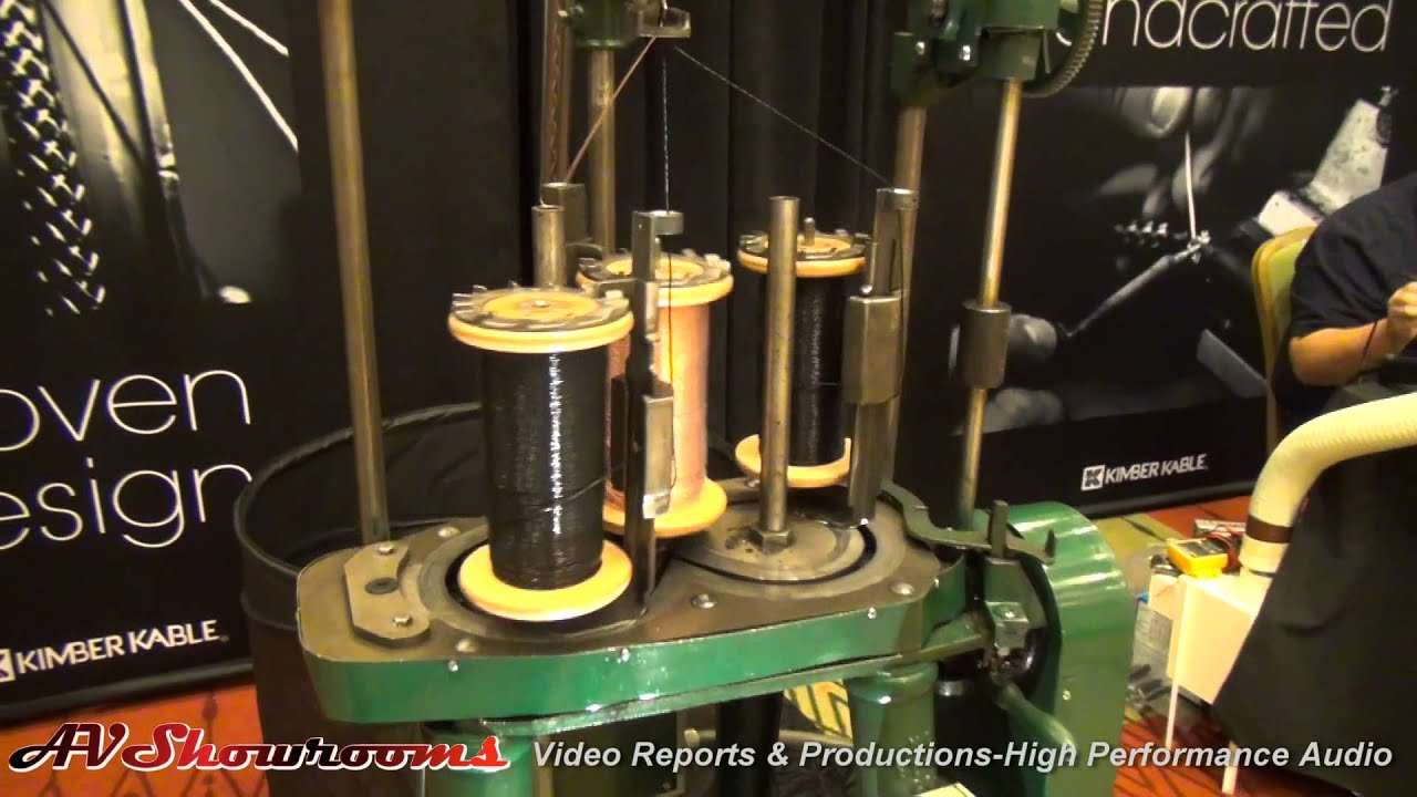 Kimber Kable, how is it made? watch and see - YouTube