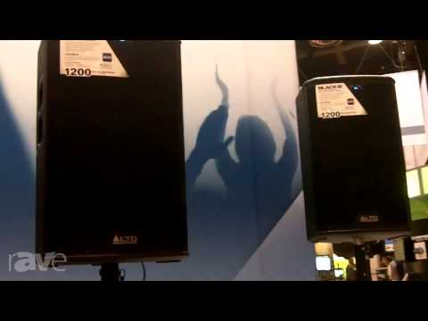 InfoComm 2013: Alto Professional Showcases its Black Series Speakers